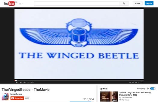 el beetle alado