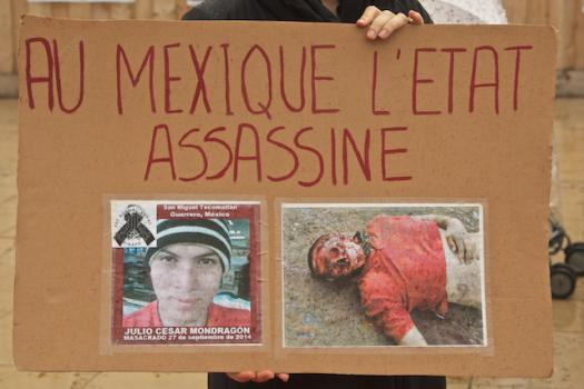 Julio César Mondragón... (foto de un archivo cerrado en México). Fueron las Bestias dice la versión del Gobierno.