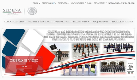 SEDENA | Delegación 2015
