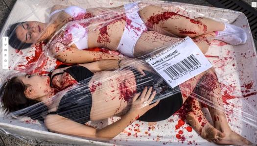 Uso justo de los medios en tiempos de inconformidad. La imagén de servicio de fotos y el gigante de los cables noticiosos se presta para distinguir entre el activismo con conciencia y el protagonismo cursi de Hartistas que pasan por París... La foto de Jean-Philippe Ksiazek se piratea para empezar a ver cuales son las diferencias entre los 'Hanarquistas' en las manifestaciones de Ayotzinapa en México, y los 'Hartistas' de colectivismo cerrado y selectivo —sin dialogo— de París.
