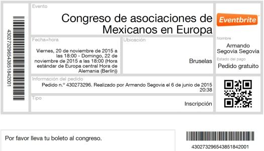 3er Congreso de Mexas en Europa