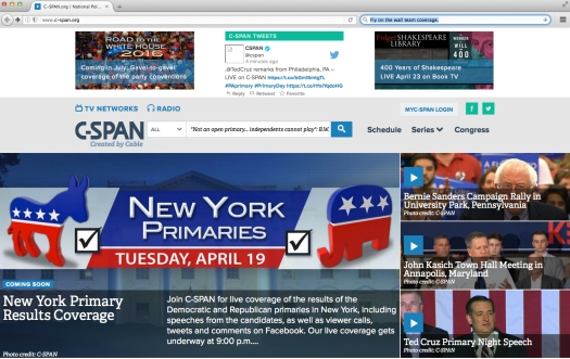 Fair use of the State of Affairs over at the C-SPAN post.