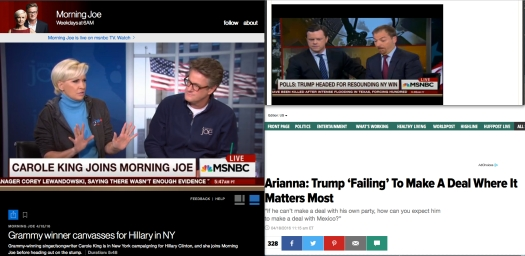 When it's time to narrate the oral history of Morning Joe, Mr. Willie Geist is going to be the one to attest that Chuck Todd did the math while he tired to save his coffee mug… it begs the question: was the cup of joe, Starbucks?
