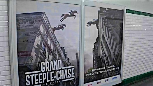 La carrera de los obstáculos… moments away. Grand Theft Automobile is for amateurs.