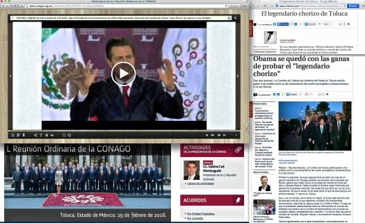 """""""El periodismo necesita de inversión""""… Uso justo de los medios y del Grupo Milenio—un conjunto de Monterrey quienes, por cierto, tocan bien mal [a] las rancheras."""