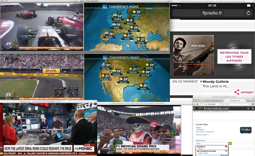 …news are happening at the Speed of Formula One. Visuals take the front seat to Context —at least until the Staff clears the next Curve. | Fair Use of World Class Racing.