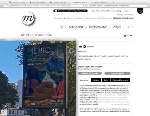 Uso justo del Ministerio de la Cultura, de la Embajada de México en Francia, y de todos los medios; en Total.