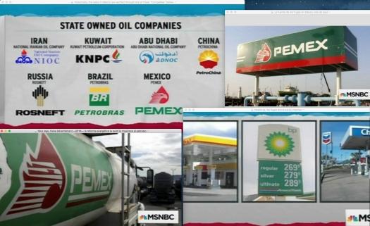 Screen captures courtesy of Universal/NBC and its historically verified affiliates. —|— Uso justo de todas las fuentes para poder dar continuidad al análisis de la Reforma Energética acreditada al señor presidente de México: Enrique Peña Nieto.