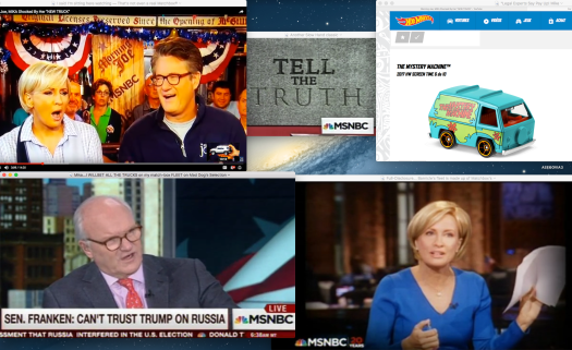 What ever... moving on with Mike Barnicle, the staff here reminds a Morning Joe bettin' man —not to bet any Trucks before the end of today's Morning Joe's Show.