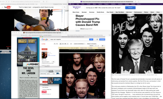 Fair use of a media jingle: who wore it best... y por supuesto de todos los Yahoo's.