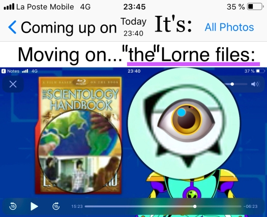 """Picture """"Eye », used for illustrative purposes on the SnL"""