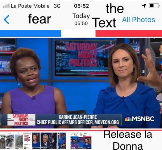 Fear politics