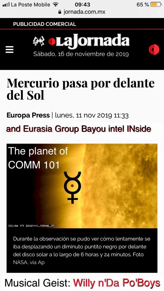 Mercury is the god of COMMUNICATION
